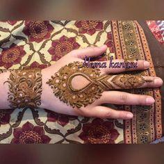 Finger Henna Designs, Arabic Henna Designs, Stylish Mehndi Designs, Unique Mehndi Designs, Wedding Mehndi Designs, Mehndi Designs For Fingers, Dulhan Mehndi Designs, Beautiful Mehndi Design, Arabic Mehndi
