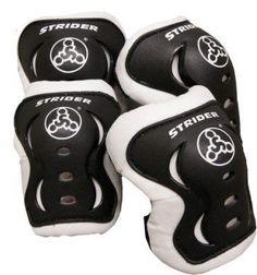 STRIDER Knee and Elbow Pad Set is a fun way to introduce safety gear to your child. Pad set fits children 2 to 5 years old. These pads are TOUGH. RIDE IN STYLE: Share your love for Strider with these stylish knee and elbow pads. Kids Cycle, Balance Bike, Striders, Ride On Toys, Kids Bike, Exercise For Kids, Tricycle, Looks Cool, Toddler Toys