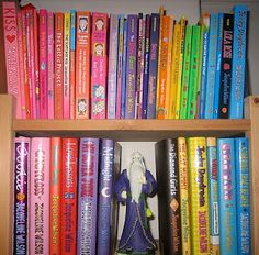 Bright Jacqueline Wilson Covers Jacqueline Wilson Books, Poppy Pins, World Of Books, 90s Kids, Books To Read, Reading Books, Great Books, Literature, Nostalgia