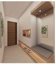 Home Entrance Decor, House Entrance, Entryway Decor, Home Decor, Entrance Halls, Art Decor, Decor Ideas, Flur Design, Entry Way Design