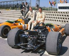 Denny Hulme and Bruce McLaren