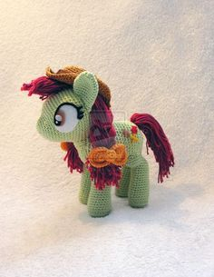 Candy Apples Amigurumi by ~LeFay00 on deviantART