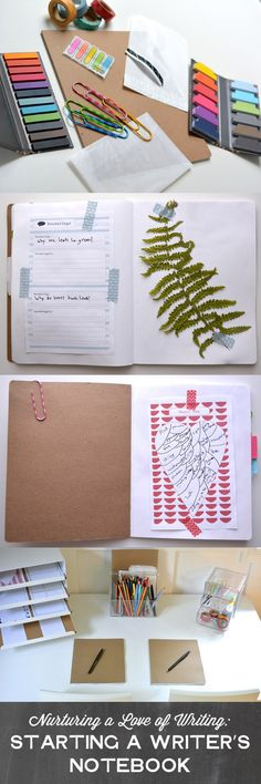 Great tips on starting a writer's notebook with the budding young authors in our lives...