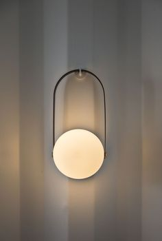 Carrie Portable LED Lamp by Norm Architects for MENU | From AmbienteDirect - Germany's leading online retailer for all lovers of classic and modern Interior Design. | ambientedirect.com @ambientedirect