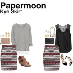 """""""Kye Skirt"""" by hanger731x on Polyvore"""