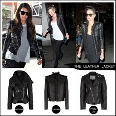 THE LEATHER JACKET. #fashion #fall