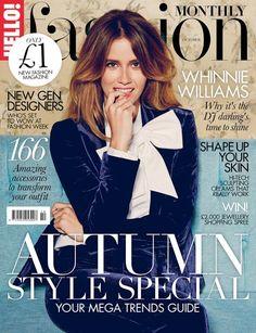 Damson Belle's Style Blog: My first 'Hello Fashion Monthly' magazine..... in 54321!