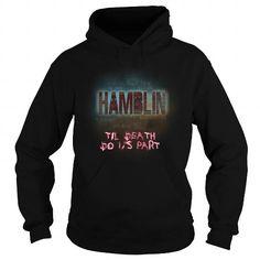 I Love HAMBLIN-the-awesome Shirts & Tees