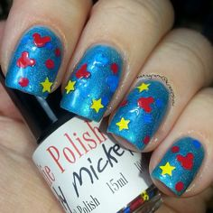 Primarily Mickey     Large bottle    Handmade  by IndiePolish, $9.75