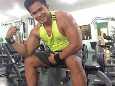 Victor Guno Pose @ Pegasus Fitness