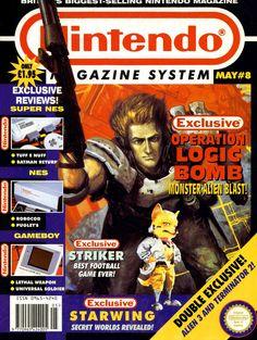 Nintendo Magazine System Issue Number 8 - http://119019af.tinylinks.co - #90s #1990s #Nintendo #SNES #SuperNES #SuperNintendo