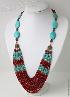 Pinned by @Manaro Design  Jewelry | Beading | Bracelet | Necklace | Earrings