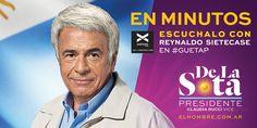 EN MINUTOS | El candidato que no cree en la polarización @DelaSota con @Sietecase #Guetap @Vorterix #DelaSota2015