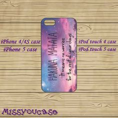 iphone 4 case,iphone 4s case,cute iphone 4 case,iphone 5 case,cute iphone 5 case,Hakuna Matata,ipod 4 case,ipod 5 case,in plasitc on Wanelo