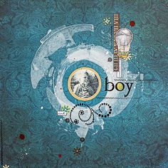 Maryia Potapovich created this stunning layout featuring the Somewhere In Time collection. Love her design. #BoBunny, #scrapbooklayouts, #layouts @mellpellmell