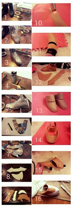 Beckeste Cosplay — Here is a tutorial on how to make shoe covers,...