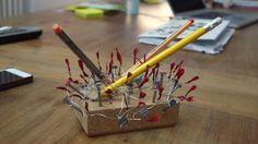 Ein Kunstwerk mit Nagellack