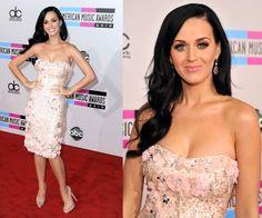 I am in love with Katy Perry's Badgley Mischka dress!