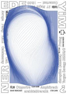 """ by ali emre doğramacı / turkey, 2017 / digital print, 500 x 700 mm Poster Creator, Dm Poster, Poster Series, Typography Poster Design, Graphic Design Posters, Plakat Design, Geometric Poster, Digital Print, Poster Design Inspiration"