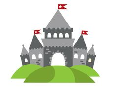 Knight Castle Wall Decal! We are thinking a knight theme if we have a little boy :)