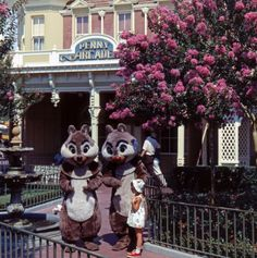 Chip and Dale. Main Street Raiders of the Lost Tumblr