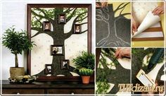 Генеалогическое дерево для декора своими руками + Фото » Дизайн & Декор своими руками