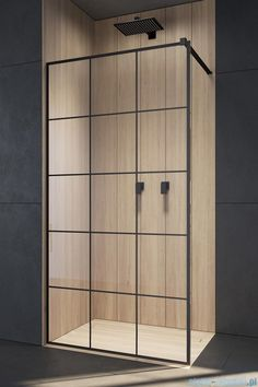 Modo New Black II Factory Walk-in fekete zuhanyfal Walk In, Small Bathroom With Shower, Shower Cabin, Restroom Design, House Rooms, Bathroom Inspiration, Home Projects, Eos, Shabby Chic