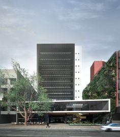 Menção Honrosa no concurso de ampliação do SENGE-RS / Grifo Arquitetura