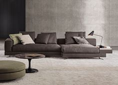 Halbinsel-Sofas: Sofakombination White von Minotti