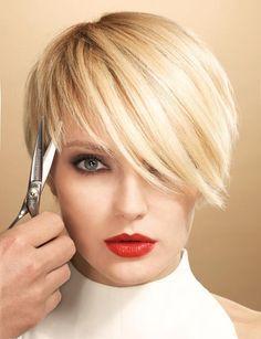 kort haar in prachtige blonde tinten.. Check deze 10 beeldschone korte kapsels…
