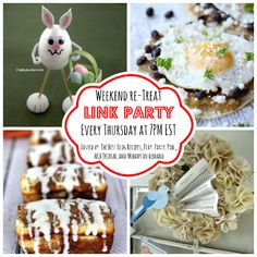 WEEKEND RE-TREAT LINK PARTY #62