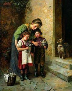 Edmund Adler - Posy for mother