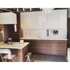 If you are interested to give a look at your with you must contact with We are the service providers in Modern Ikea Kitchens, Home Kitchens, New Kitchen, Kitchen Interior, Kitchen White, Kitchen Ideas, Rehab House, Basement Bar Designs, Ikea Kitchen Cabinets