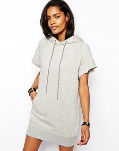 Image 1 of Diesel Hooded Sweat Dress