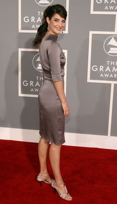 Cobie Smulders - 49th Annual Grammy Awards - Arrivals