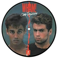 """Wham! Club Tropicana limited edition 7"""" vinyl picture disc (1983)"""