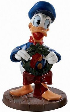 WDCC Mickeys Christmas Carol Donald Duck Festive Fellow A WDCC Walt Disney Classics Collection Figurine 4009061 From the Disney Classics Series Mickeys Chritmas Carol. Disney Dolls, Disney Mickey, Walt Disney, Mickey Mouse, Mickey Christmas, Christmas Carol, Disney Classics Collection, Classic Collection, Donald And Daisy Duck