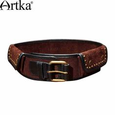 Find More Information about Artka Women's Qualified Cattlehide Vintage All Match Rivet Decorated Belt G09593,High Quality belt pack,China belt printing Suppliers, Cheap belt calculator from Artka on Aliexpress.com