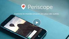 La vidéo Periscope sort de son appli pour être visible sur tout le Web