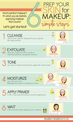How To Prep Your Skin For Beautiful Makeup- 6 Simple Steps!