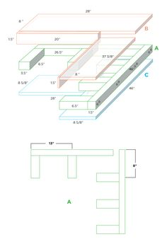 DIY Floating Corner Shelves - A Beautiful Mess