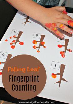 Falling Leaf Fingerprint Counting