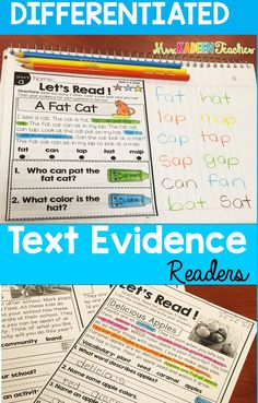 Reading has never been this fun, Teach explicit and inferental text evidence with these passages that can be differentiated with fiction and nonfiction. Kindergarten Literacy, Early Literacy, Literacy Activities, Educational Activities, Teaching Resources, Teaching Ideas, Reading Lesson Plans, Reading Lessons, Reading Strategies