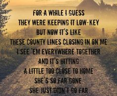 country song up down