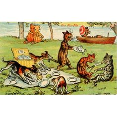 Louis Wain Cats Picnic