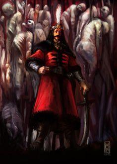 Vlad The Impaler by Mitchellnolte.deviantart.com
