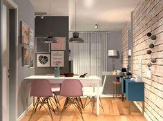 Muitas imagens de inspiração para a decoração de um apartamento pequeno. Veja ideias para sala, quarto, banheiro e cozinha.
