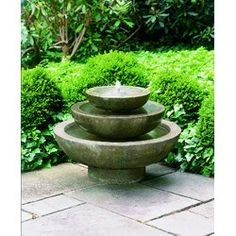 You'll love the Cast Stone Platia Fountain at Wayfair - Great Deals on all Outdoor products with Free Shipping on most stuff, even the big stuff.