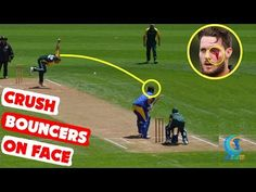 #10 Crush Bouncers On Batsman Face in Cricket History Ever | Weird Bouncers Ever | Cricket Latest - (More info on: https://1-W-W.COM/Bowling/10-crush-bouncers-on-batsman-face-in-cricket-history-ever-weird-bouncers-ever-cricket-latest/)