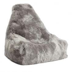 New Zealand Sheepskin Bean Bag Chair